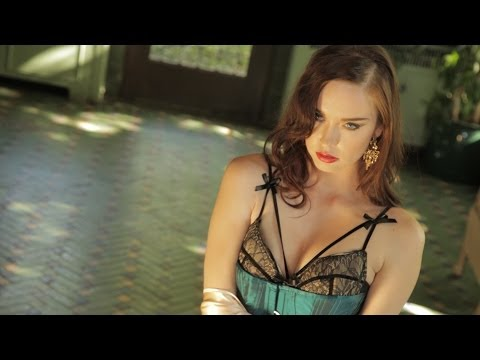 Elyse Levesque  Toro Woman photoshoot in a mansion