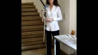 (DE) FUTURISSIMO Vernissage-Rede von Donatella Chiancone-Schneider