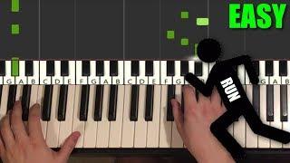 AWOLNATION - RUN (Piano Tutorial Lesson)