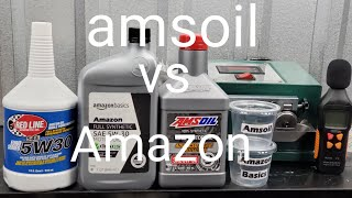 Amsoil vs Amazon basics  shocking results