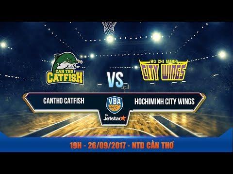 #Livestream || Game 16 : Cantho Catfish vs Hochiminh City Wings  26/09 | VBA 2017 by Jetstar