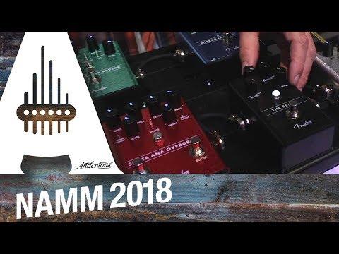 New Fender Pedals - NAMM 2018