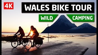 Wales Bike Tour and Wild Camping - Coast to Coast Adventure 4K
