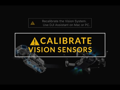 How To Recalibrate Vision Sensors On a DJI Drone