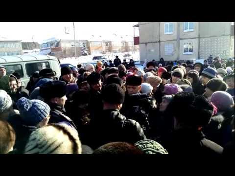 16.02.2017 Митинг-протест закрытия больницы в с.Северное Оренбургской области  16.02.2017
