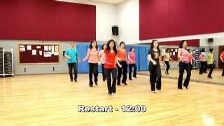 Your Place Or Mine - Line Dance (Dance & Teach in English & 中文)
