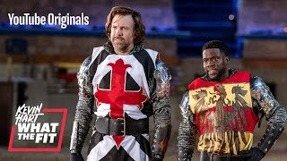 Jousting with Jason Sudeikis and Kevin Hart...