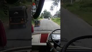 Gonikoppal, Virajpet, Karnataka. Driver cabin video Airbus.