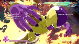FighterZ -  Freezer movimientos especiales