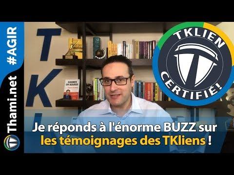 Je réponds à l'énorme BUZZ sur les témoignages des TKliens !