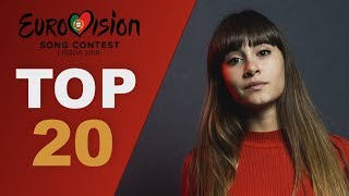 top 20 gems lost in National finals | Eurovision 2018