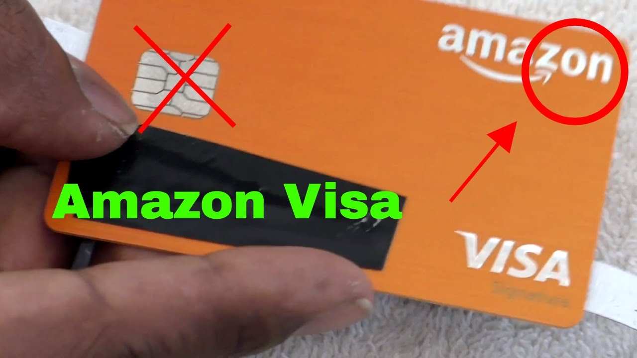 Amazon Chase Rewards Visa Credit Card Review Youtube