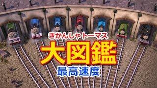 きかんしゃトーマスのキャラクター大図鑑