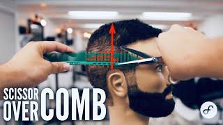 Scissor over Comb Technique   Part 2
