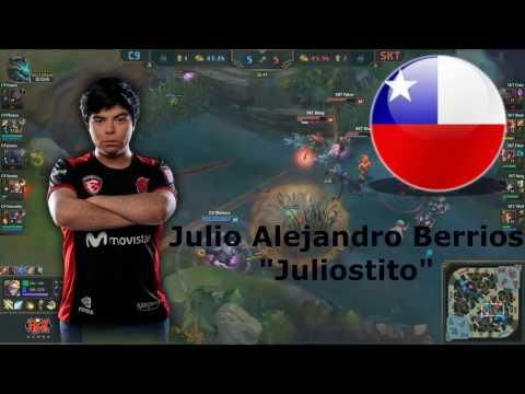 TOP 5 Mejores JUNGLAS De Latinoamerica (jugadores Profesionales)