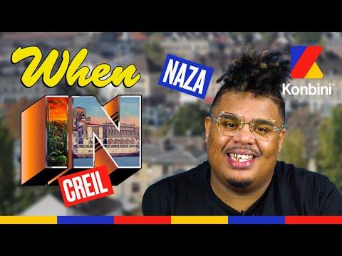 Youtube: Naza vous fait visiter sa ville, bienvenue à Creil l When In l Konbini