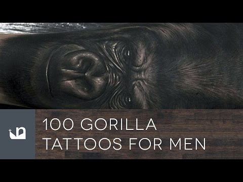 100 Gorilla Tattoos For Men