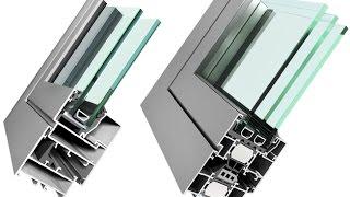 видео Остекление балконов алюминиевым профилем: как это делается