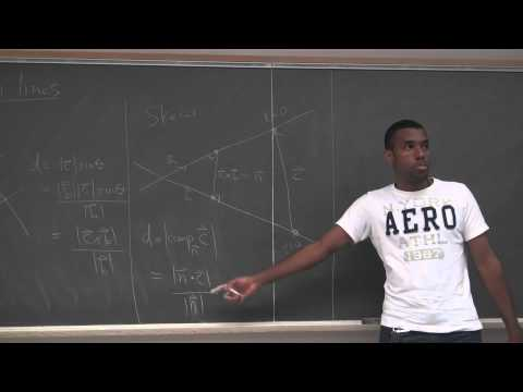 Math 203 Lecture 7 - Equations of Planes and the first series corner