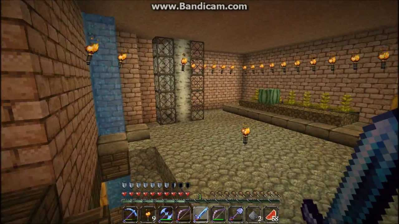 Minecraft Big House In SURVIVAL Mode   YouTube