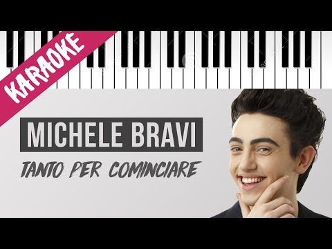 Michele Bravi | Tanto Per Cominciare // Piano Karaoke con Testo