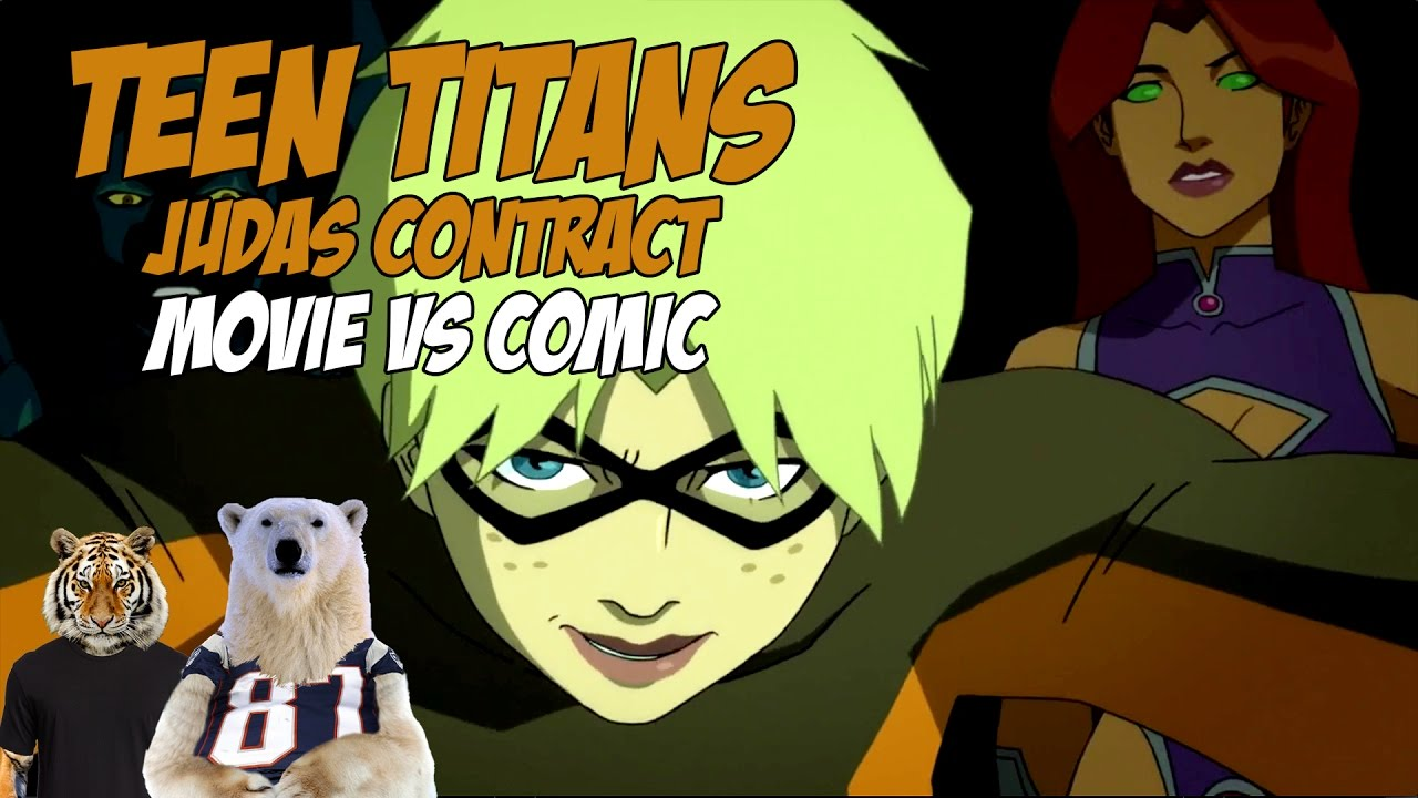 Teen Titans Judas Contract - Comic Vs Movie - What Changed -6516