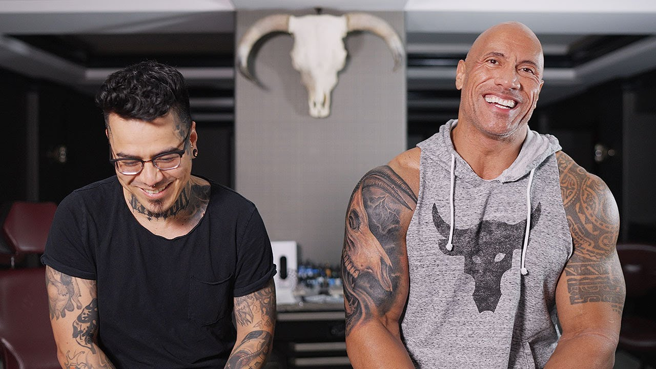 My Tattoo Story: The Evolution of the Bull   The Rock