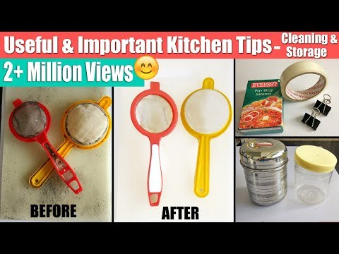 6 Useful & Important Kitchen Tips In Hindi | Tried & Tested Kitchen Tricks | उपयोगी/जरूरी किचन टिप्स