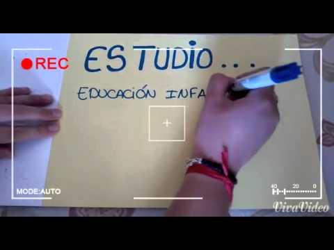 videocurriculum educacion infantil