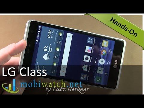 LG Class aka LG Zero Hands-on Video: Aluminum Discounter ...