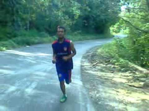 Lari maraton rafi sasena 3 km