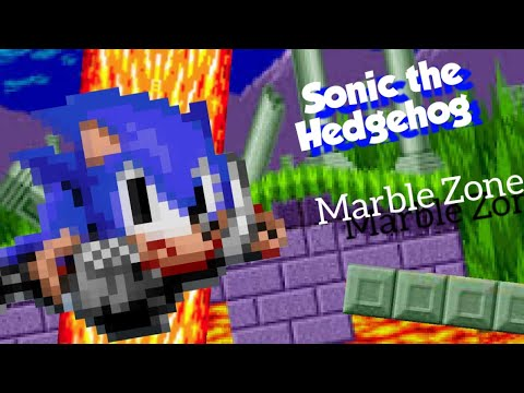 Just Playin Sonic The Hedgehog 2013 Remake Marble Hill Zone Youtube