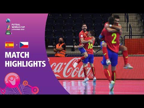 Spain v Czech Republic   FIFA Futsal World Cup 2021   Match Highlights