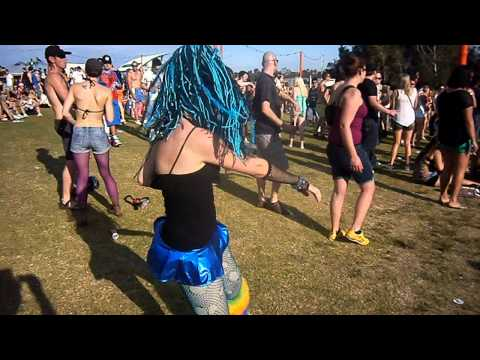 Defqon Sydney 2011 Cyber Punk Outfit