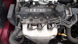 Двигатель Daewoo Lanos 1.5