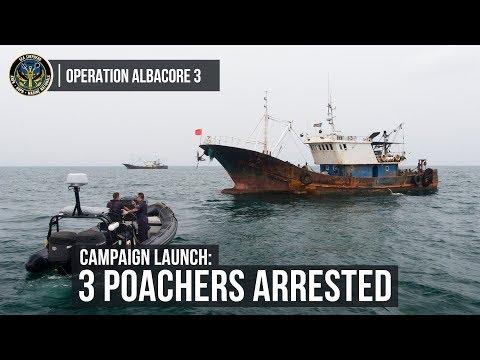 Operation Albacore 3 Campaign Launch: Three Poachers Arrested