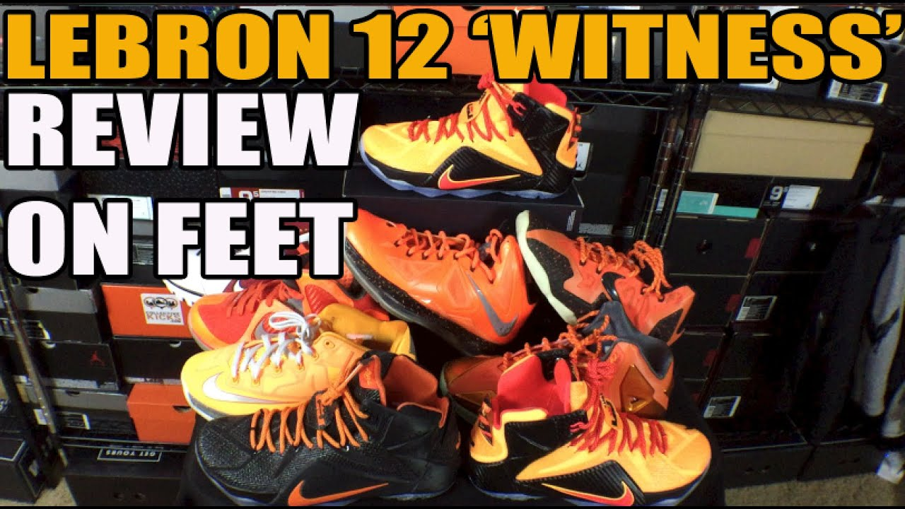 online store 6ee23 47856 Have You Copped A Lebron 12 Yet  Nike Lebron 12 (XII) Witness Review  Comparison On Feet