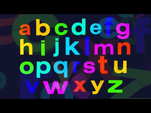 Alphabet Song and Learn to write A-Z upper case + lower case