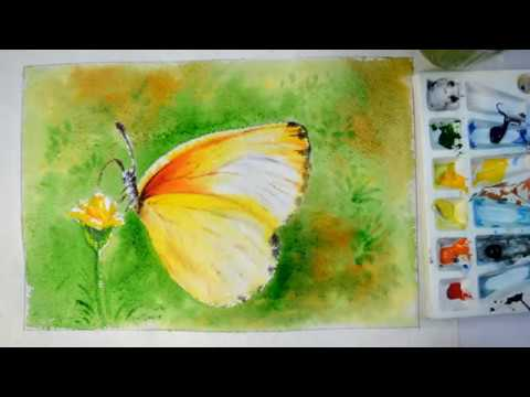 How To Paint A Easy Butterfly