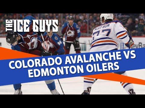 Colorado Avalanche vs Edmonton Oilers | The Ice Guys | NHL Picks