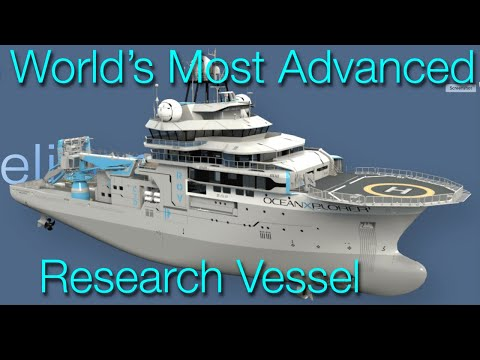 "OceanXplorer Conversion - ""the world's most advanced research vessel"""