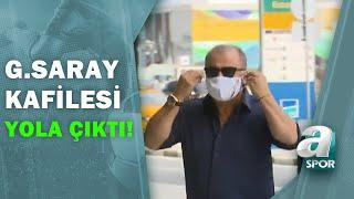 Galatasaray Kafilesi, Olympiakos Maçı İçin Yunanistan'a Yola Çıktı! / A Spor / Spor Gündemi