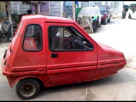 Bma amica micro car 3 wheelers restoration youtube Amica com reviews