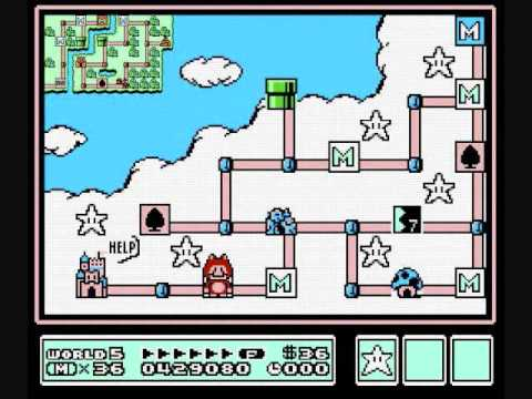 Pure Skies (SuperMario3World-5RMX)