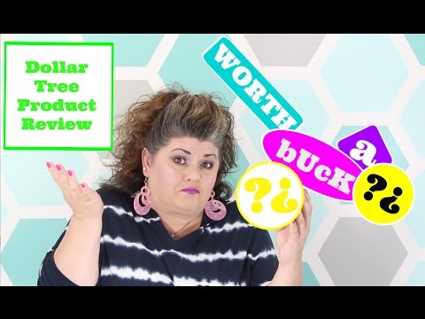 worth-a-buck?-|-dollar-tree-product-review-ep-7