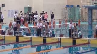 2013全運會游泳女子50自由式