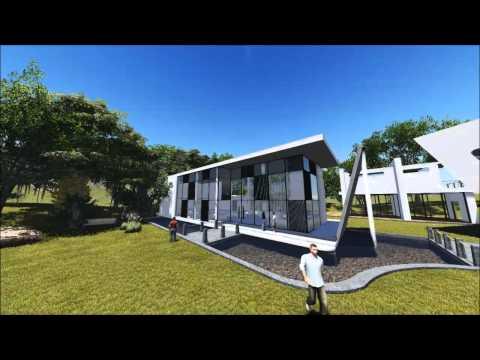Ananda Suruci Yoga Wellness Center 3D Animation