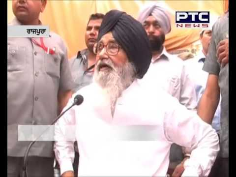 Punjab Chief Minister Parkash Singh Badal on Amrinder singh & Majithia
