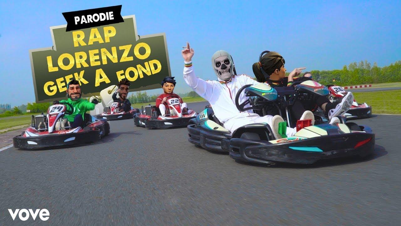 Lorenzo - Geek à Fond (Parodie fortnite)