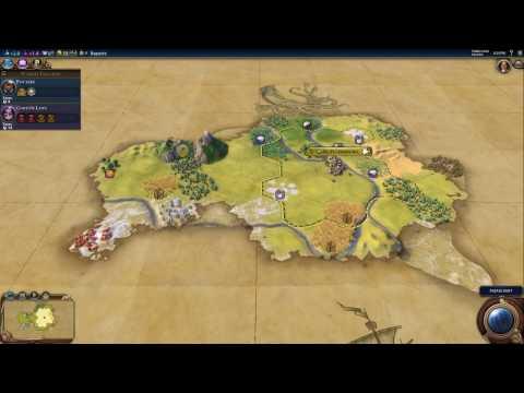 Civ VI - Game 4, Session 1 - Russia